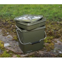 Olive Square Bucket 13 litres