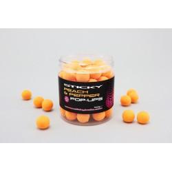 Peach & Pepper Pop Ups