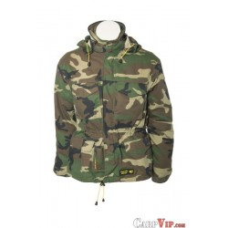 Classic Fish Jacket with drill-Bag Camo