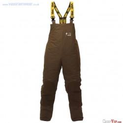 "Lined Bib n Brace Winter Team Vass 175 ""Khaki Edition"" : Taille S"