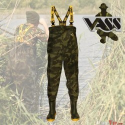 Chest Waders Vass-Tex 800 Camo
