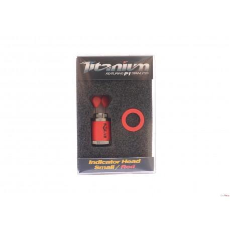 Titanium Indicator Heads Small