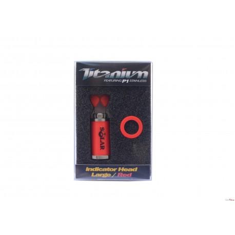 Titanium Indicator Heads Large