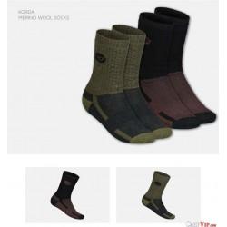 Kore Merino Wool Sock Black