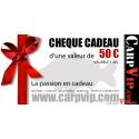 Chèque cadeau 50€