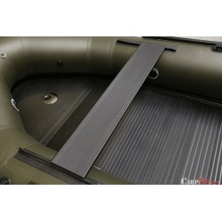 Fox 2.9m Green Inflable Boat - Aluminium Floor