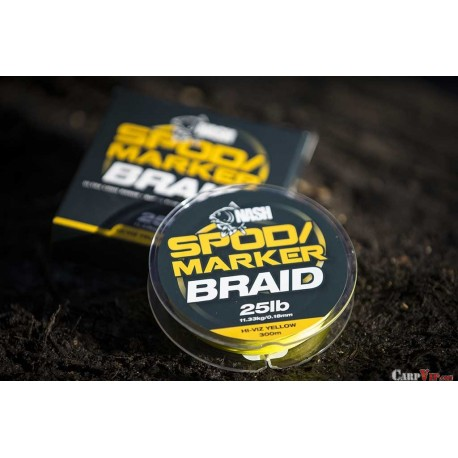 Spod and Marker Braid Hi Viz Yellow (25lb/0.18mm x 300m)