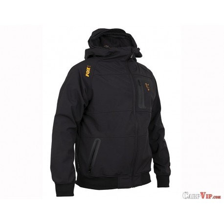 Fox® Collection Black/Orange Shell Hoody
