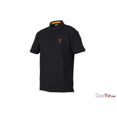 Fox® Collection Black/Orange Polo Shirt