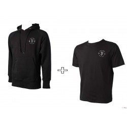 Artists' Hoody + Artists' T-Shirt - trakker