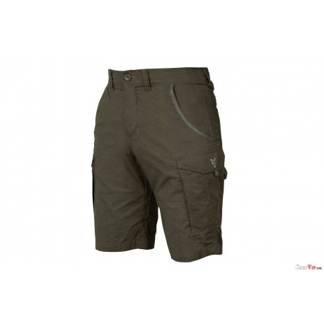 Fox® Collection Green/Silver Combat Shorts