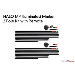 Halo 2 Pole Kit inc. Remote and 2 Bags