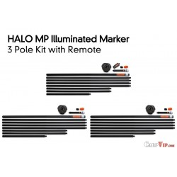 Halo 3 Pole Kit inc. Remote and 3 Bags