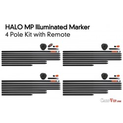 Halo 4 Pole Kit inc. Remote and 4 Bags