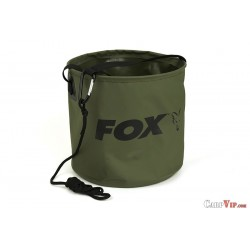 Collapsible Water Bucket Lrg. Inc. Rope/Clip Large 10 L