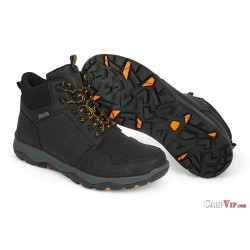 Fox® Collection Black/Orange Mid Boots