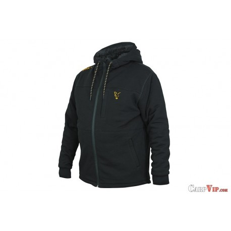 Fox® Collection Black/Orange Sherpa Hoody