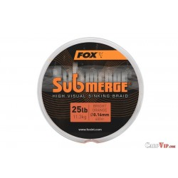 Submerge® High Visual Sinking Braid Bright Orange 600 m