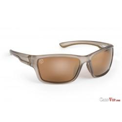 Fox® Avius® Wraps - Trans Khaki Frame/Brown Mirror Lens