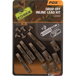 Edges® Camo Drop Off Inline Lead Kit x5