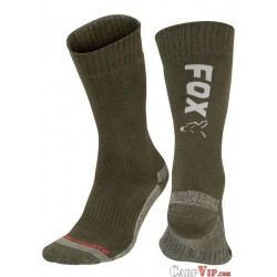 Fox® Black/Orange Thermolite® Long Socks