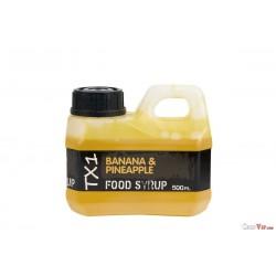 TX1 Banana & Pineaplle Food Syrop 500 ml