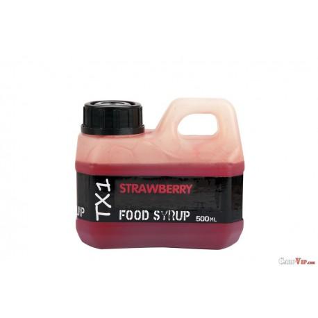 TX1 Strawberry Glug Food Syrop 500 ml