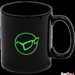 Mug Glasses Logo Black