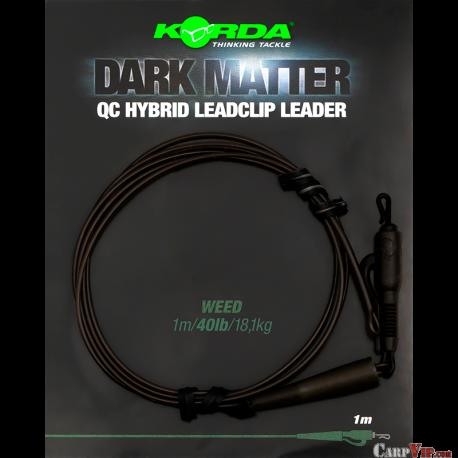 Dark matter Leader QC Hybrid Clip 40 lbs 1 mtr