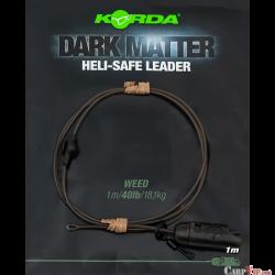 Dark Matter Leader Heli Safe 1mtr 40lb