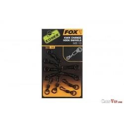 Edges Kwik Change Hook Swivels Size 10 x10