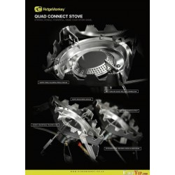 Quad Connect Full Kit + Eco Power Heated Gas Ganister Cover