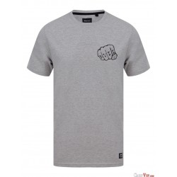 T-Shirt Knuckles Tee Grey Marles