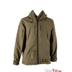 Softshell Parka with drill-bag Olive