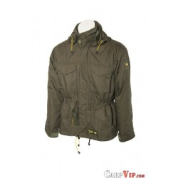 Classic Fish Jacket With drill-bag Green