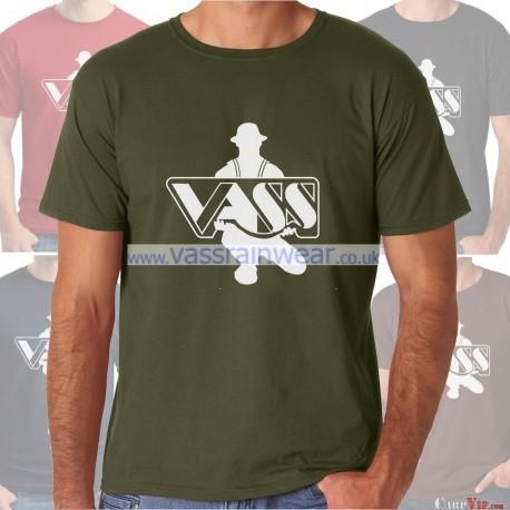 Vass Printed T-Shirt Khaki