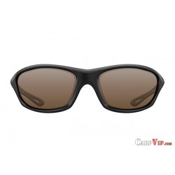 Sunglasses Wraps Gloss Black / Brown Lens