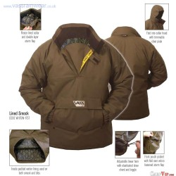 "Lined Smock Winter Team Vass 175 ""Khaki Edition"" : Taille S"