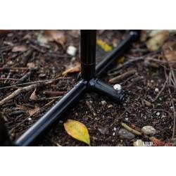 Singlez Stage Stand Aluminium Black
